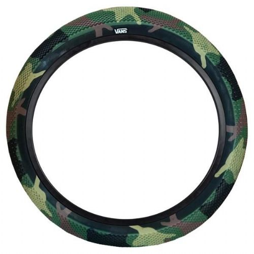 "Cult 26"" Vans Tyre - Camo With Black Sidewall 2.10"""